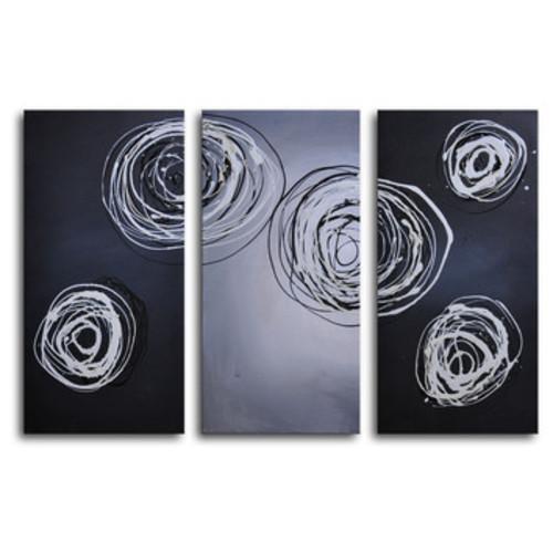 Cnidaria Phosphorescence 3 Piece Canvas Art Set