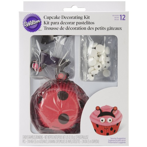 Wilton Cupcake Decorating Set Makes 24-Ladybug