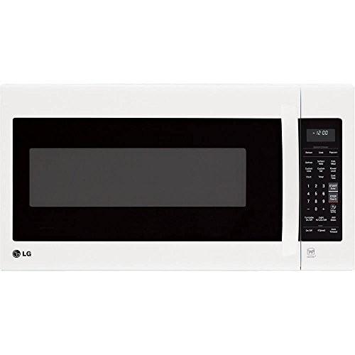 LG LMV2031SB2.0 Cu. Ft. Smooth Black Over-the-Range Microwave