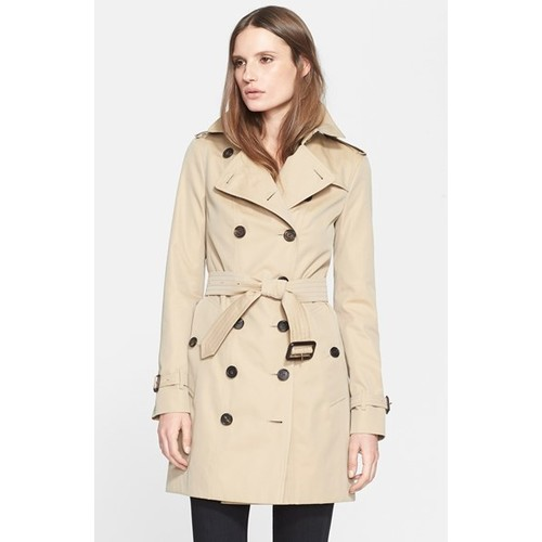 BURBERRY London 'Sandringham' Slim Trench Coat