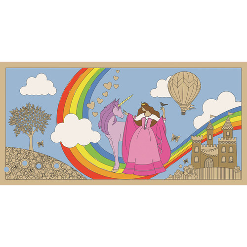 Lullubee Perfect Princess Giant Coloring Mural