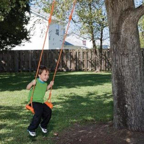 Pure Fun Kids Swing Seat - Orange