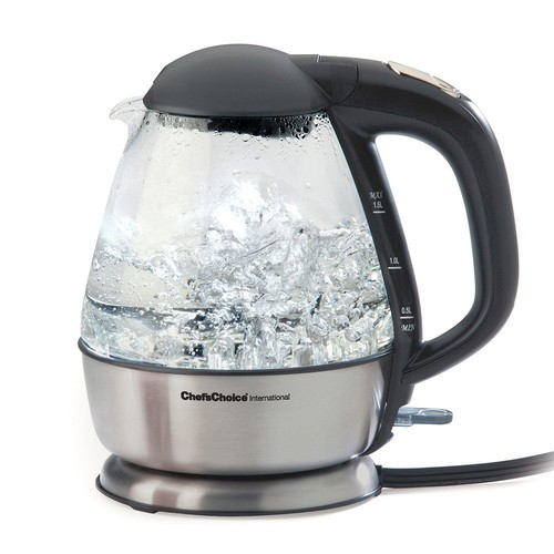 Chef'sChoice - Electric Kettle - Brushed Stainless-Steel