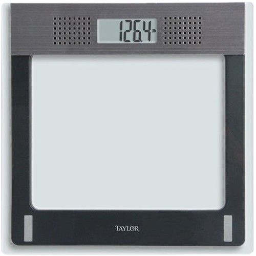 Taylor - Digital Talking Bathroom Scale - Black