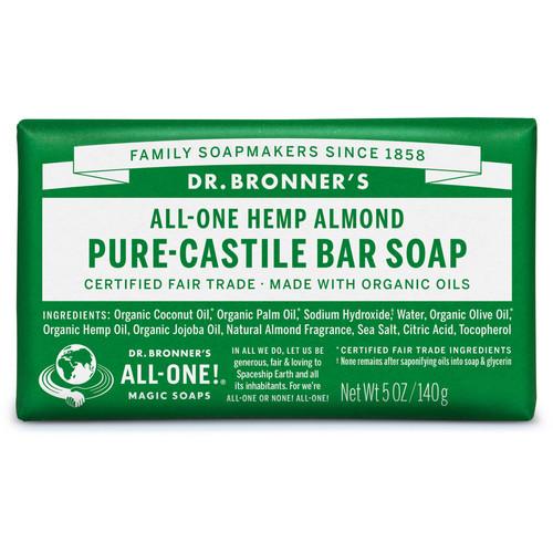 Dr. Bronner's Pure-Castile Almond Bar Soap