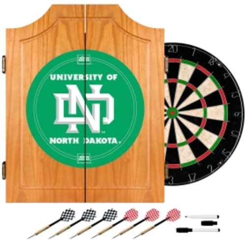 Trademark Games North Dakota Fighting Sioux Dart Cabinet