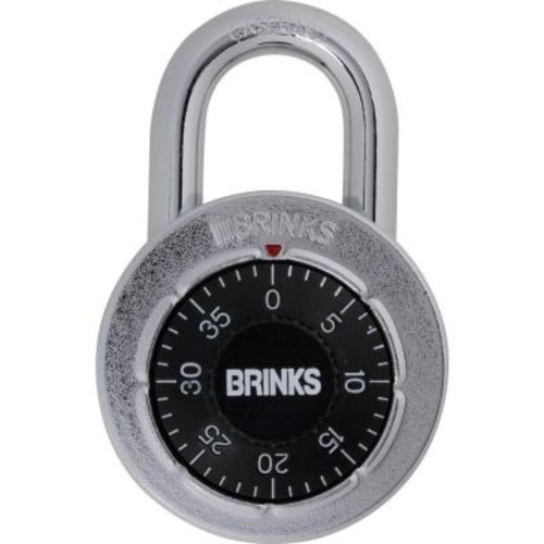 Brinks Home Security Steel Dial Combination Lock
