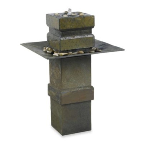 Kenroy Home Cubist Indoor/OutdoorFloor Fountain