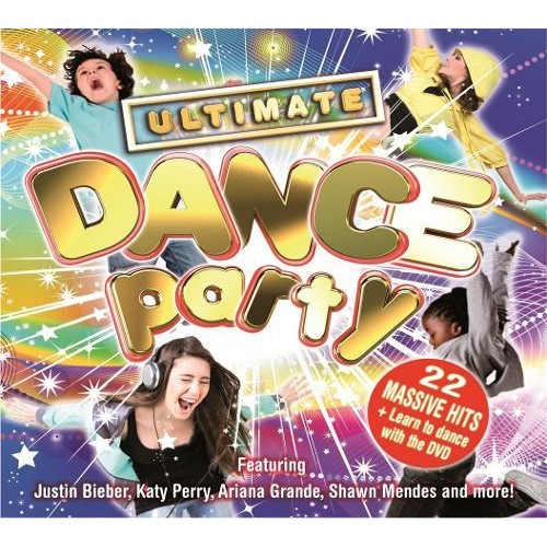 Ultimate Dance Party 2016 [CD & DVD]
