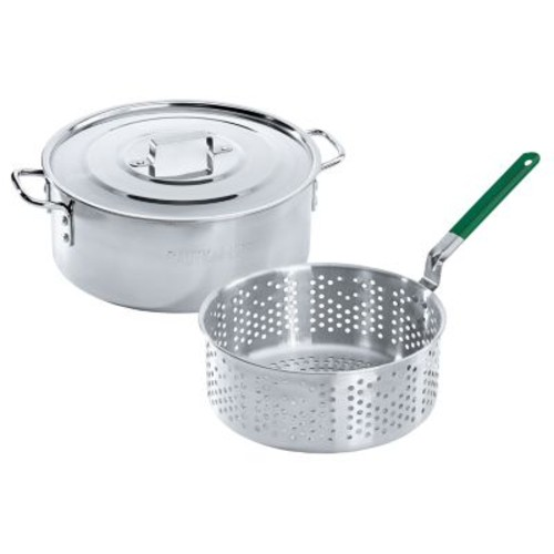 Cabela's Stainless Steel Fry Pan and Basket