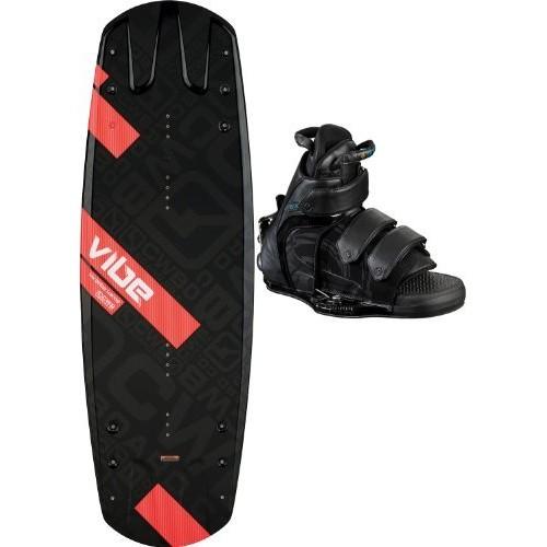 CWB Vibe Wakeboard 136 w/ Vapor Bindings Mens Sz 136cm-L-XL (10-14)