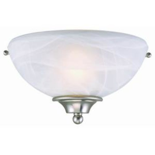 Design House 511584 Millbridge 1 Light Wall Light, Satin Nickel