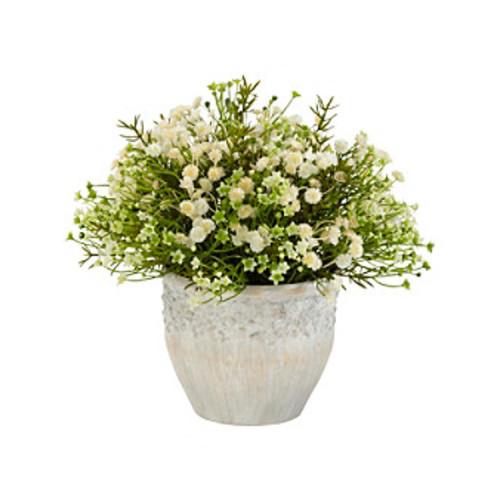 Nearly Natural Indoor Outdoor Mixed Mini Daisy Silk Plant