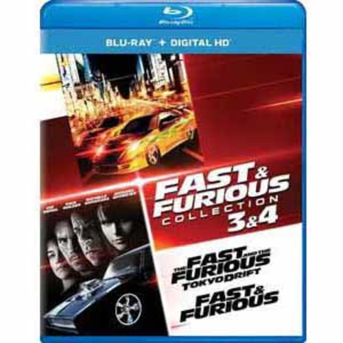Fast And Furious Collection: 3 And 4 [Blu-Ray] [Digital HD]