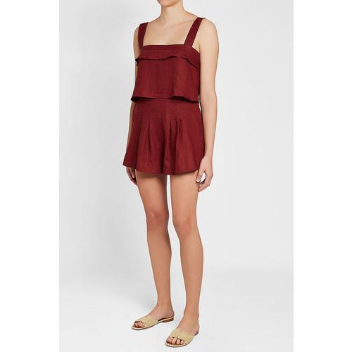 Rhoda Linen Shorts