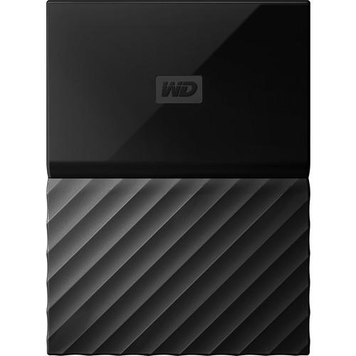 WD - My Passport for Mac 3TB External USB 3.0 Portable Hard Drive - Black