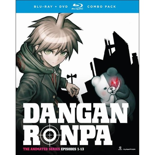 Danganronpa: The Complete Series [Blu-ray/DVD] [4 Discs]