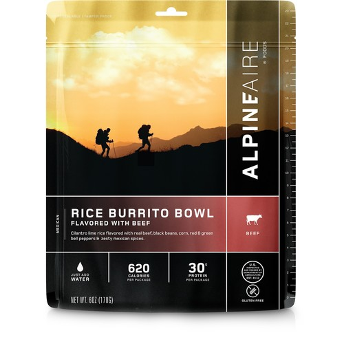 Beef and Rice Burrito Bowl - 2 Servings