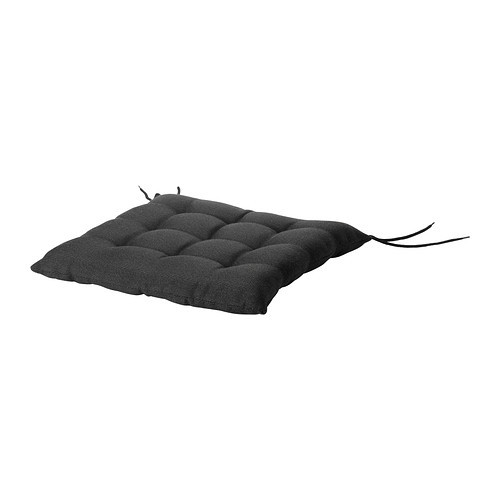 HLL Chair pad, outdoor, black