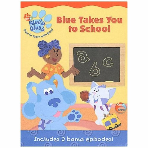 BLUES CLUES - BLUE TAKES YOU TO SC MOVIE