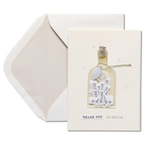 Papyrus Bottle of Thanks Thank You Card