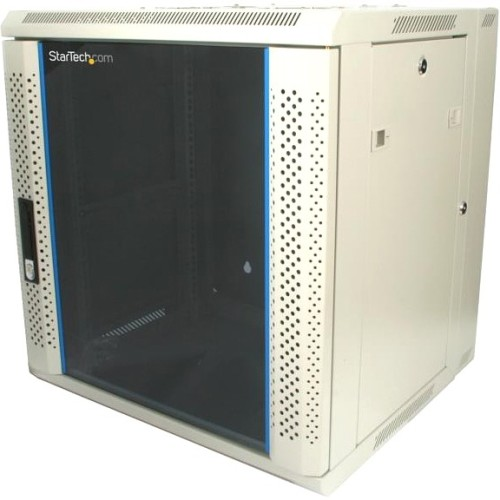 StarTech.com 12U 19in Hinged Wall Mount Server Rack Cabinet w/ Vented