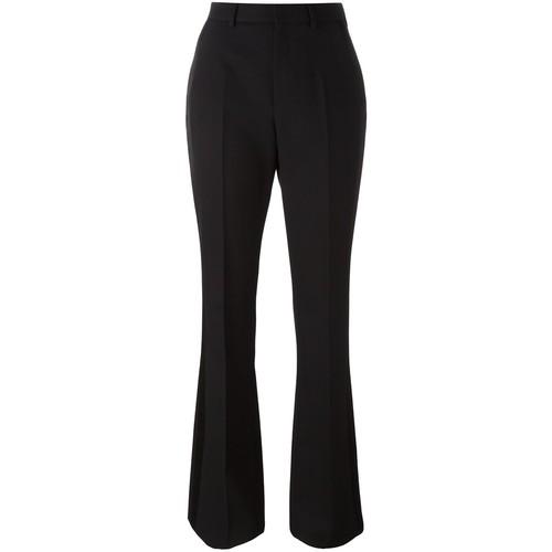 SAINT LAURENT Satin Stripe Smoking Trousers