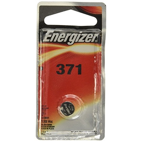 Energizer 371BPZ Zero Mercury Battery - 1 Pack