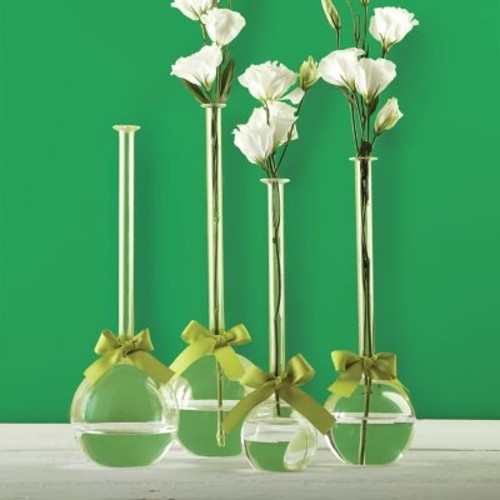 Brayden Studio Sleek and Chic Bubble 4 Piece Table Vase Set