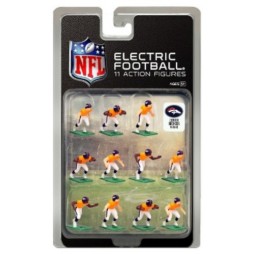 Tudor Games Denver Broncos Dark Uniform NFL Action Figure Set