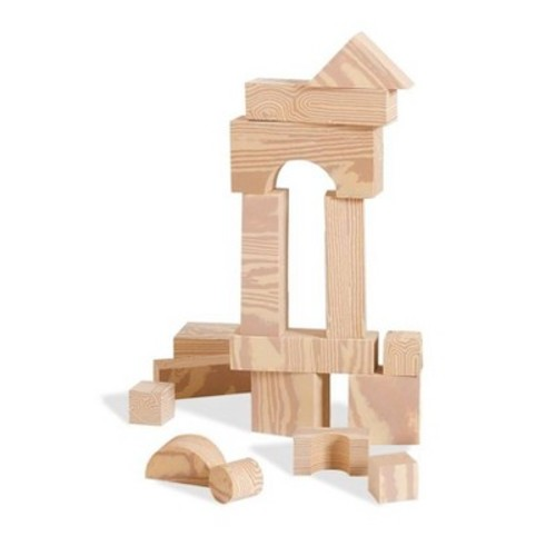 Edushape Wood-like 30 pc Firm Foam Blocks