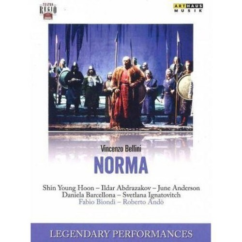 Legendary Performances: Bellini: Norma (DVD)