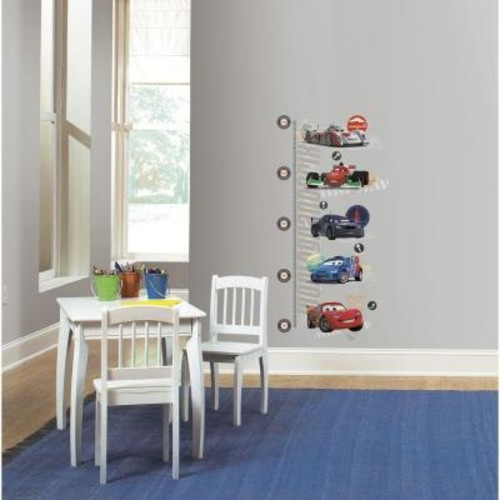 Cars 2 Peel and Stick Metric Growth Chart Wall Decals