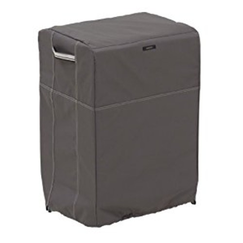 Classic Accessories Ravenna Square Smoker Cover - Premium Outdoor Cover with Durable and Water Resistant Fabric, Medium (55-174-015101-EC)