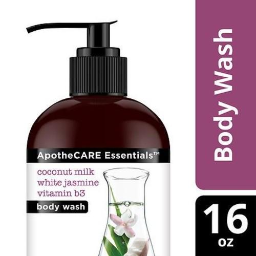 ApotheCARE Essentials Rejuvenator Body Wash Coconut Milk & White Jasmine