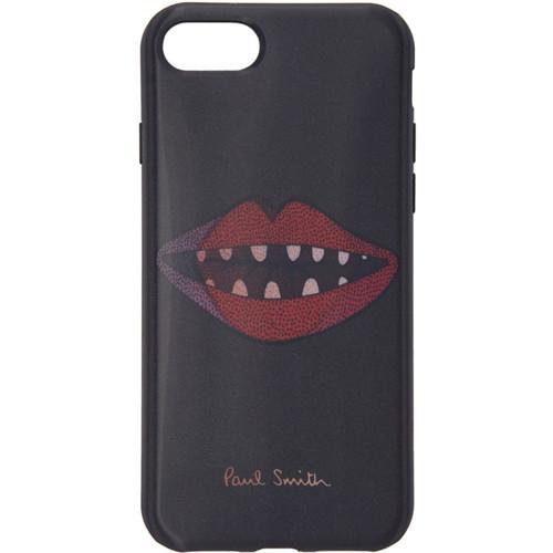 Black Lips Lenticular iPhone 7 Case