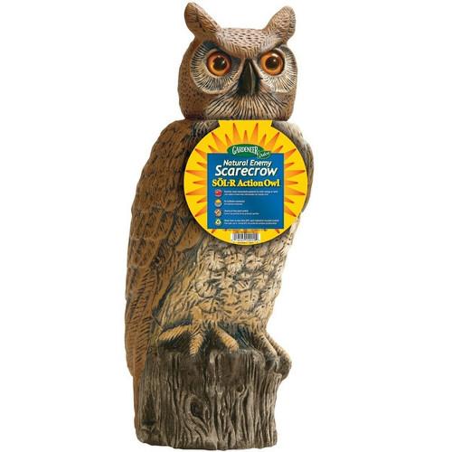 Dalen SRHO-4 Garden Defense Solar Action Owl, 18