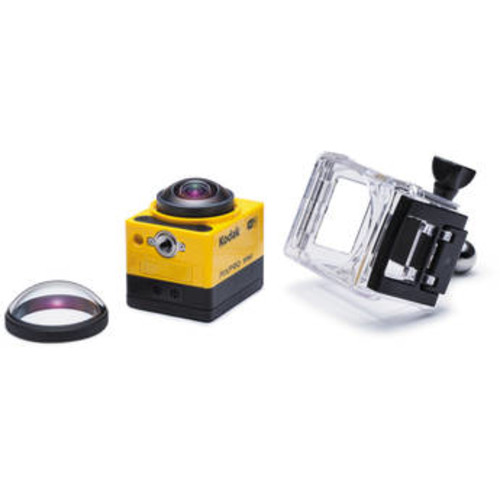 PIXPRO SP360 Action Camera with Explorer Pack
