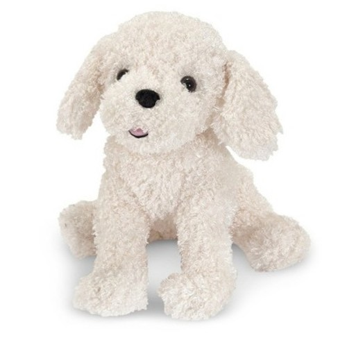 Melissa & Doug 7487 Stuffed Bichon Frise Puppy Doll