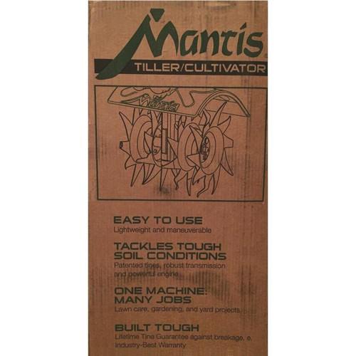 Mantis 2-Cycle Front Tine Garden Tiller - 7228