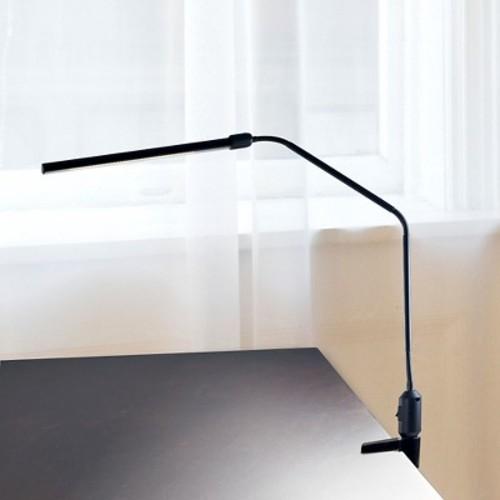 Modern Contemporary LED Clamp Desk Lamp Black by Lavish Home