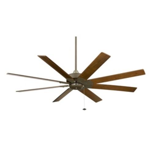 Fanimation Levon 63-inch Brushed Nickel Ceiling Fan