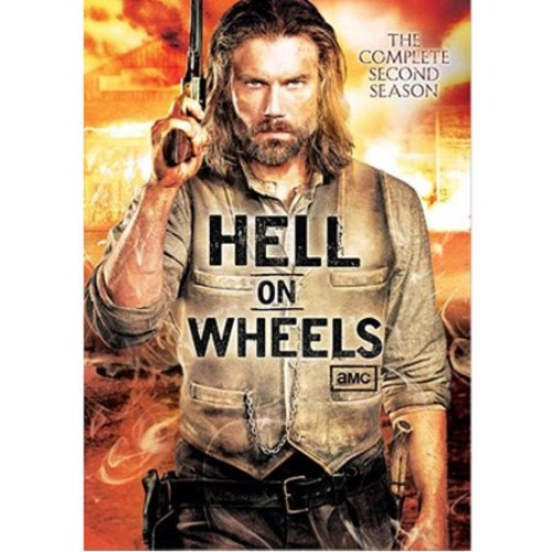 Hell on Wheels: The Complete Second Season [3 Discs] [DVD]