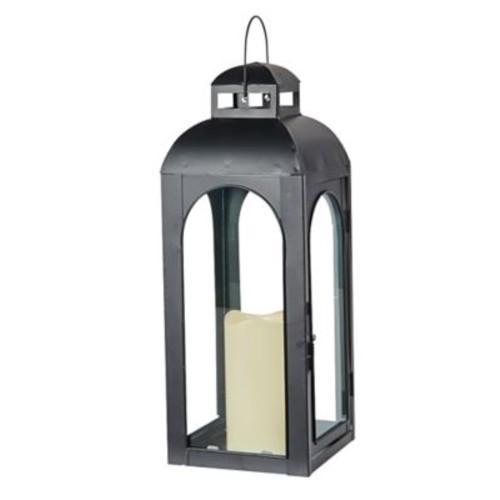 Smart Living Moreno Lantern w/ LED Candle