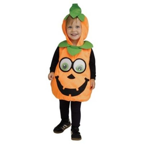 Toddler Pumpkin Googly Eyes Infant Costume 6-24M