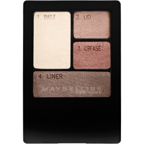Maybelline Expert Wear Eyeshadow Quad, Natural Smokes