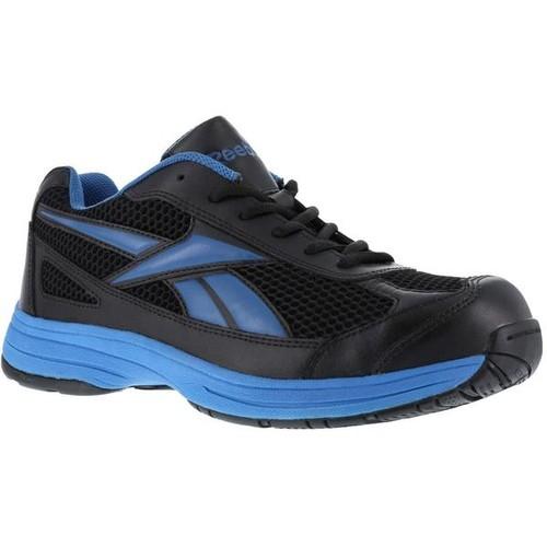 Reebok Athletic Cross Trainer - Black with Blue Trim [width : Medium]