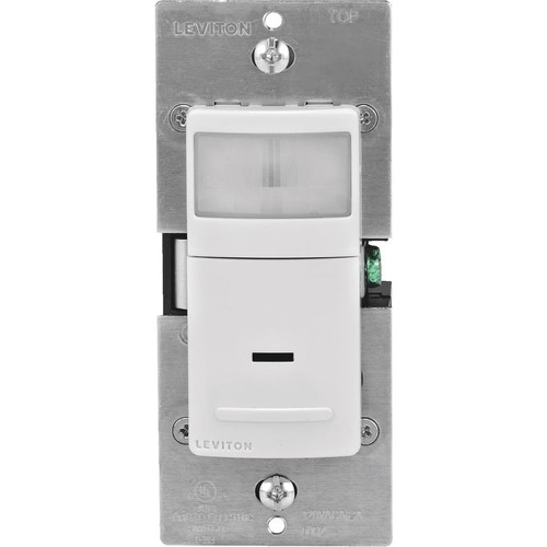 Leviton Universal Occupancy Sensor Switch - R02-IPS02-1LW
