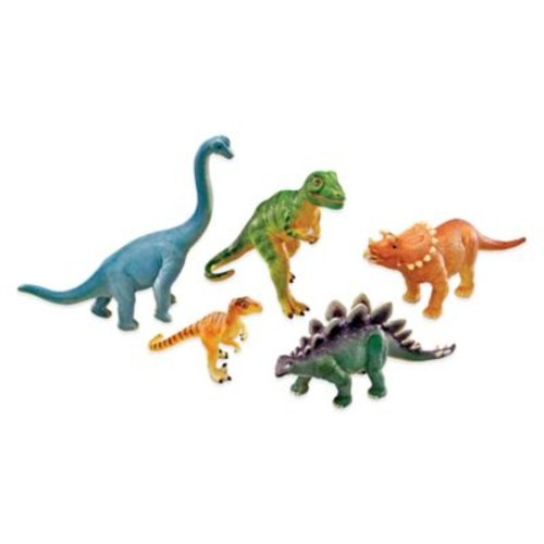Learning Resources 5-Piece Jumbo Dinosaurs Set