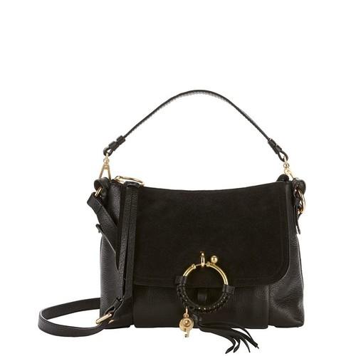 SEE BY CHLOÉ Suede Flap Shoulder Bag